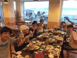 大瀬崎 夕食写真
